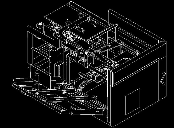 全自动开户机图纸(1)