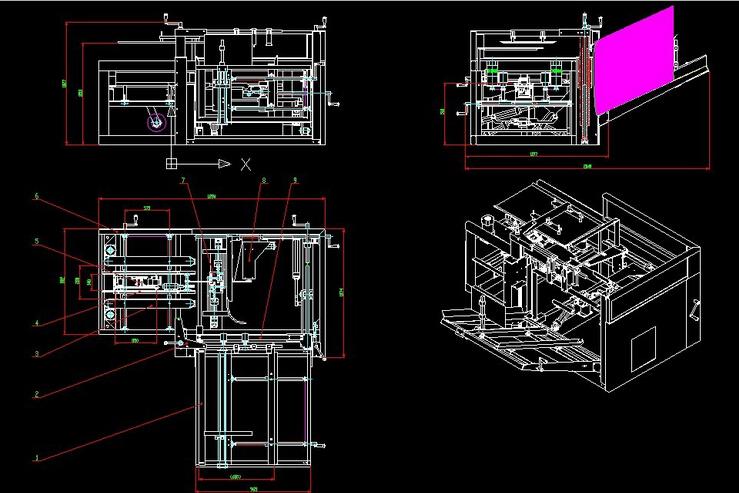 全自动开户机图纸(2)
