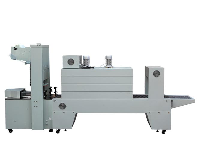 BZJ5038袖口式半自动包装机+BSE5040APE膜热收缩包装机