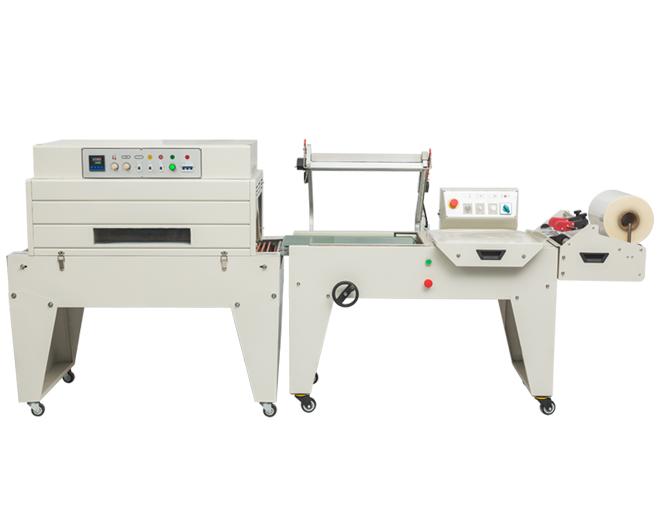 DFQC450气动L型封切机+DSA4525热收缩包装机