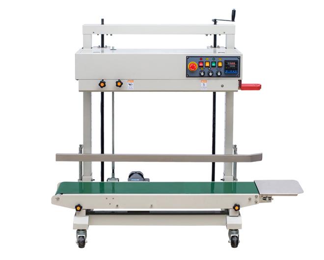 FRD-1200V立式PE膜墨轮封口机
