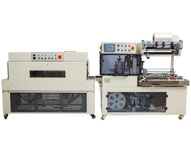DQL4518S全自动边封封切记+DSC4525L热收缩包装机