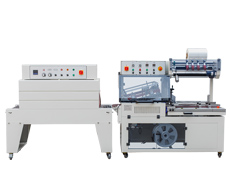 QL5545全自动L型封切机+BSD4520热收缩包装机