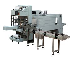 QSJ5040A袖口式全自动热收缩包装机+BSE5040APE膜热收缩包装机