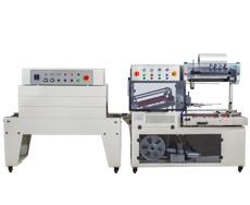 DQL5545全自动L型封切机+BSD4520热收缩包装机