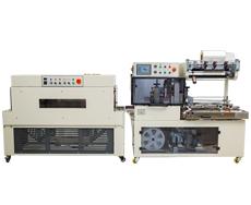 DQL4518S全自动边封封切机+DSC4525L热收缩包装机